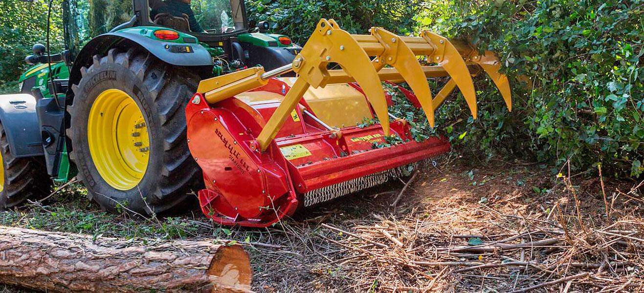 Восстановление лесных, садовых и полевых мульчеров